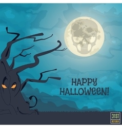 Happy Halloween Banner vector image vector image