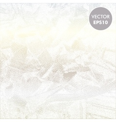 Ice frosty background abstract vector