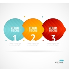Option banner infographic concept empty vector
