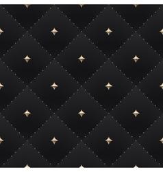 Seamless luxury dark black pattern and background vector