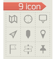 check marks icons set vector image vector image