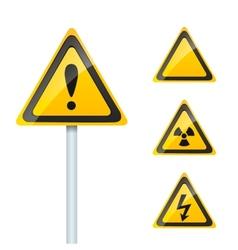 Damage signs vector