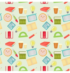office pattern vector image vector image