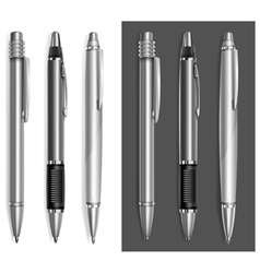 pen beautiful gray vector image vector image