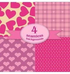 valentines day backgrounds vector image