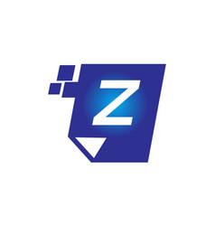 Digital paper initial z vector