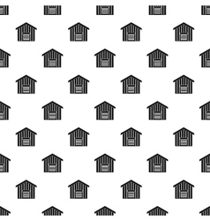 Large barn pattern simple style vector