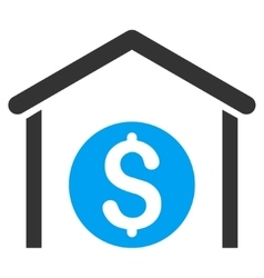 Money Storage Flat Icon vector image