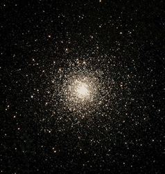 night stars cosmos vector image