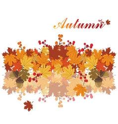 Sweet autumn background vector