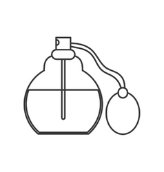 Perfume bottle icon vector