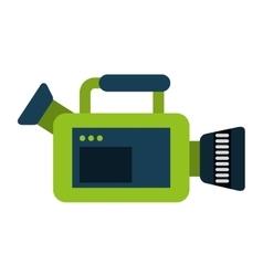 Video camera film icon vector