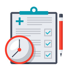 Appointment request icon vector