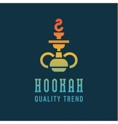 Shisha hookah for tobacco smoking and mixtures vector