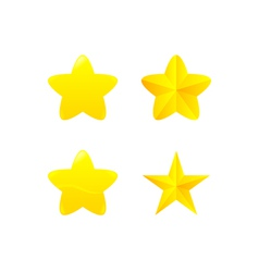 variations of star award vector image vector image