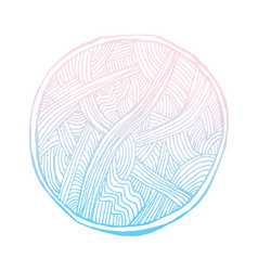 Abstract vignette vector