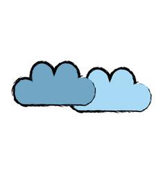 Computing cloud storage information technology vector