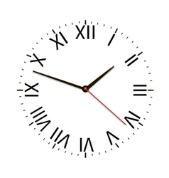 Old vintage clock vector
