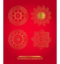 Background on the Christmas theme vector image