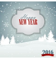 Abstract Christmas and New Year Background vector image