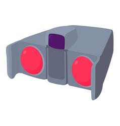 Binoculars icon cartoon style vector