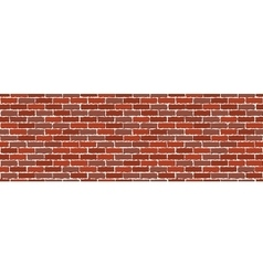 brown brick wall vector image