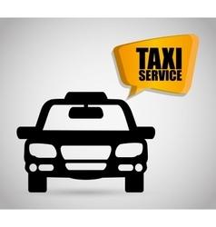 Car taxi icon public transport design taxi cab vector