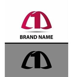 Number logo design number one logo vector