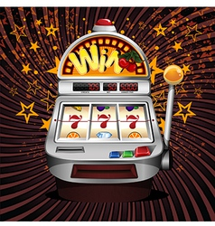 slot machine vector image
