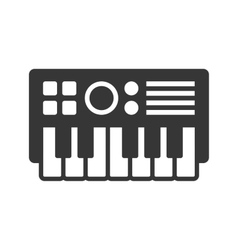 Synthesize icon vector