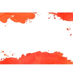 Background with red watercolor spot vector