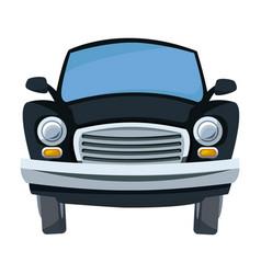 cartoon car transport travel empty vector image