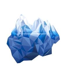 iceberg vector image vector image