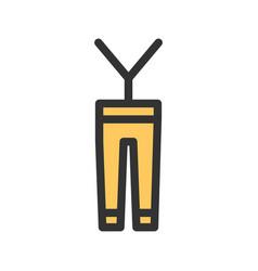 Mens pants vector