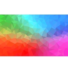 Polygonal Background for webdesign - Blue pink vector image vector image