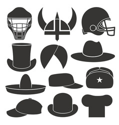 Headdress hat personal accessory vector