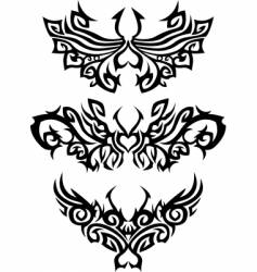 Abstract tattoos vector