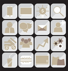 240715 bussinessman icons set vector