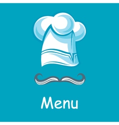 Chef hat image vector