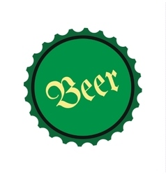 Beer flat icon vector