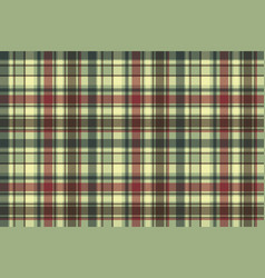 Green plaid diagonal seamless fabric texture vector