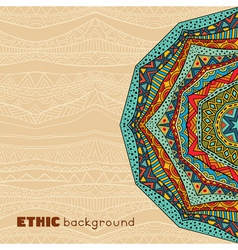 Ethnic abstract background vector