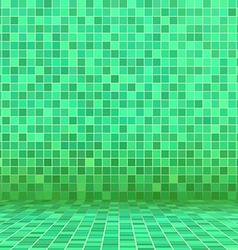 green swimming pool ceramic vector image vector image