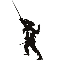 Musketeer Warriors Theme vector image vector image