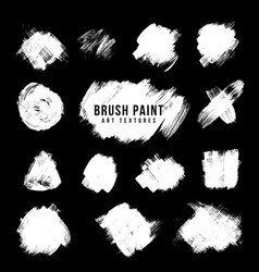 Paint brush strokes texture vector