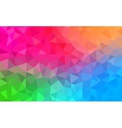 Polygonal background for webdesign - blue pink vector