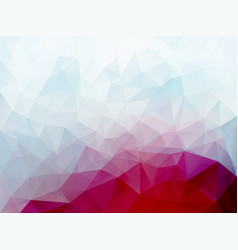 Triangle pink blue pattern vector