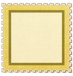 Postage stamp square vector