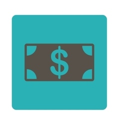 Banknote icon vector