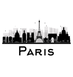 Paris silhouette vector